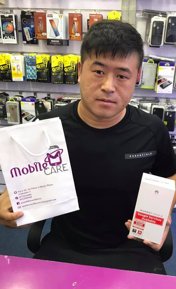 Mobile care Happy customer